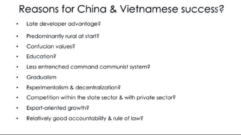 Почему у Китая и Вьетнама получилось так поднять экономику?