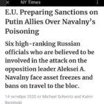 Самое интересное в слитом NYT санкционном списке