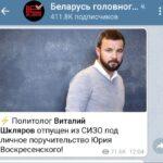 Виталия Шклярова освободили под поручительство