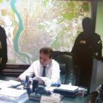 Задержание мэра Томска выглядит так