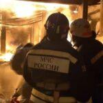 На 14.01.2021 в России в пожарах погибло 417 человек