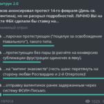 Волков анонсировал протест 14 февраля