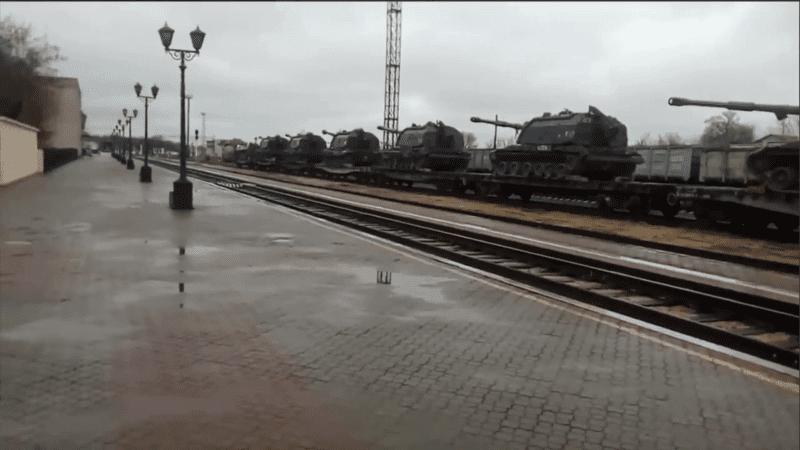 Переброска военной техники в Крым
